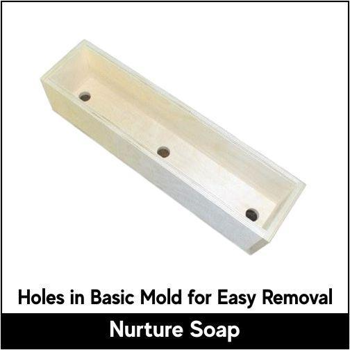 2.5 lb Tall Skinny Basic Mold - Nurture Soap