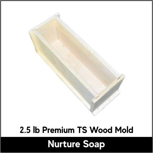 2.5 lb Tall Skinny Premium Wood Mold - Nurture Soap