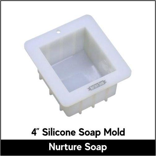 "4"" Silicone Soap Mold - Nurture Soap"