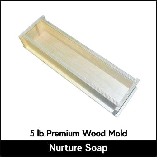 5 lb Premium Wood Mold - Nurture Soap