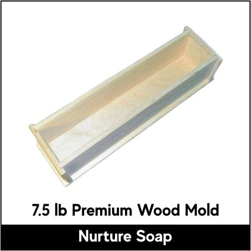 7.5 lb Premium Wood Mold - New Version
