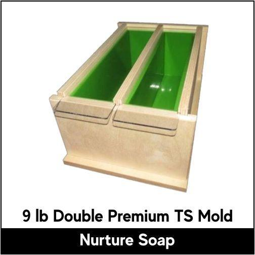 9 lb Double Tall Skinny Premium Mold - Nurture Soap