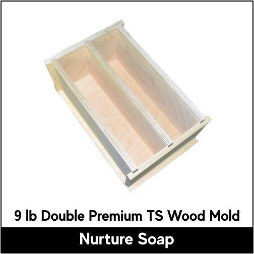 9 lb Double Tall Skinny Premium Wood Mold - Nurture Soap