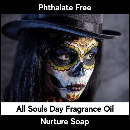 Fragrance Oils-Essential Oils-All Souls Day-Nurture Soap