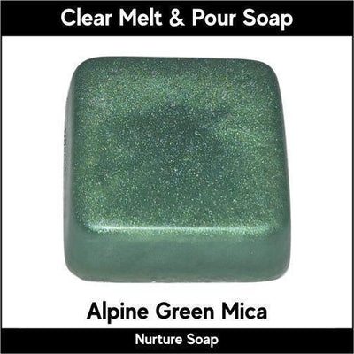 Alpine Green in MP Soap