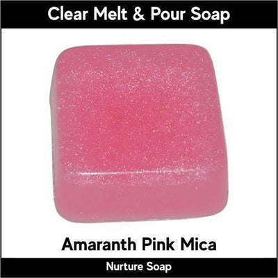 Amaranth Pink in MP Soap