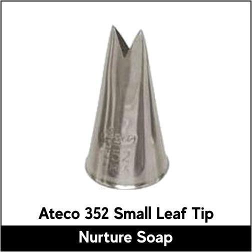 Ateco 352 Small Leaf Tip - Nurture Soap