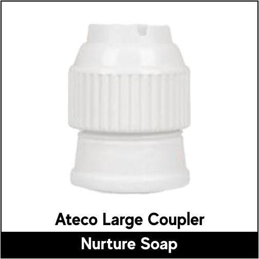 Ateco Large Coupler - Nurture Soap