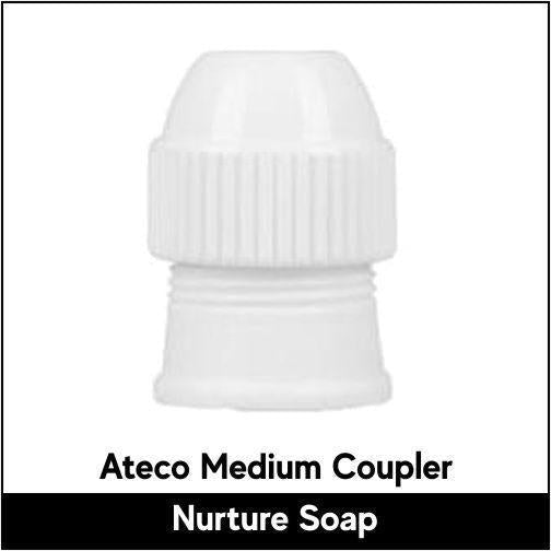 Ateco Medium Coupler - Nurture Soap