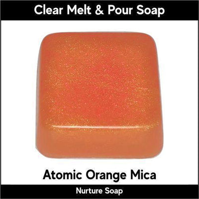 Atomic Orange in MP Soap