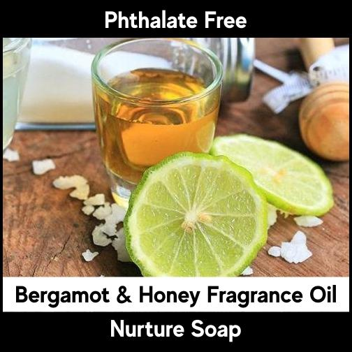 Bergamot & Honey-Nurture Soap