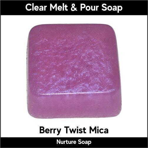 Berry Twist in MP Soap