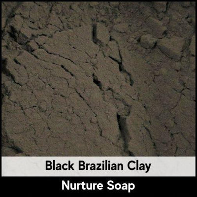 Black Brazilian Clay - Nurture Soap