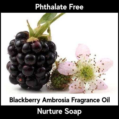 Blackberry Ambrosia-Nurture Soap