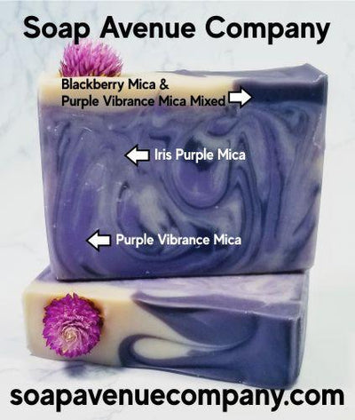 Blackberry Dark Purple Mica - Nurture Soap