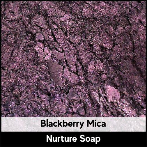 Blackberry Mica-Nurture Soap Making Supplies
