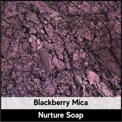 Blackberry Dark Purple Mica