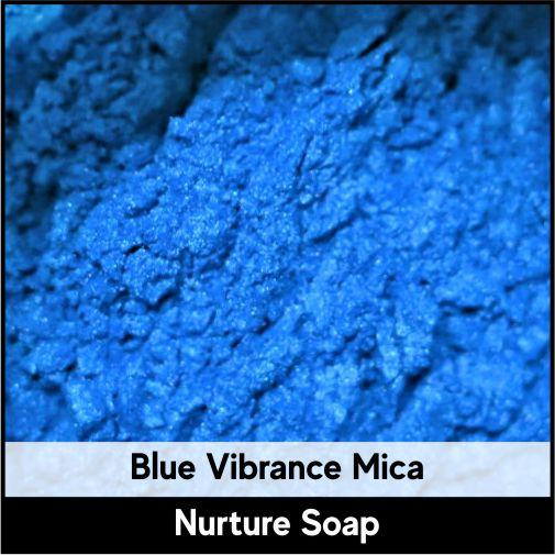 Blue Vibrance Mica-Nurture Soap Making Supplies