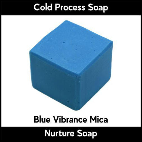 Blue Vibrance Mica Powder - Nurture Soap Inc. - 1