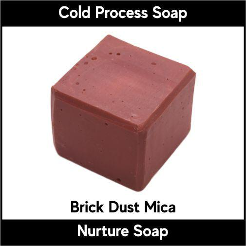 Brick Dust Mica-Nurture Soap Making Supplies