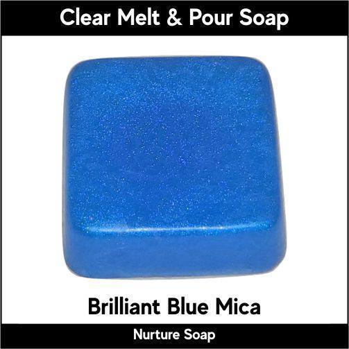 Brilliant Blue Mica-Nurture Soap Making Supplies