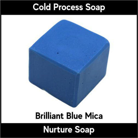 Brilliant Blue Mica Powder - Nurture Soap Inc. - 1