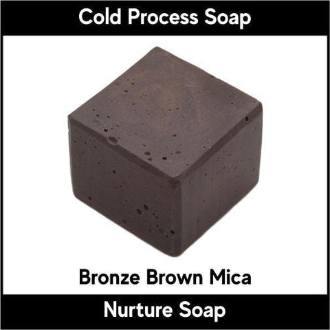 Bronze Brown Mica Powder - Nurture Soap Inc. - 1