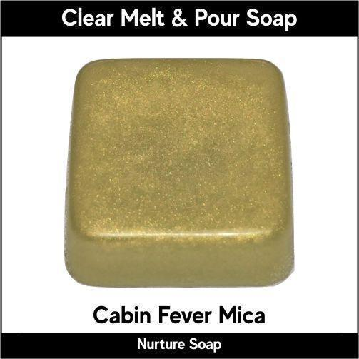 Cabin Fever Mica in MP Soap