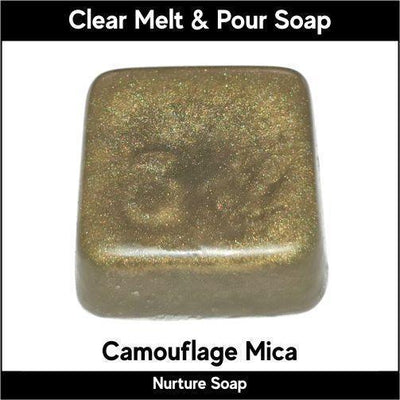 Camouflage Mica in MP Soap