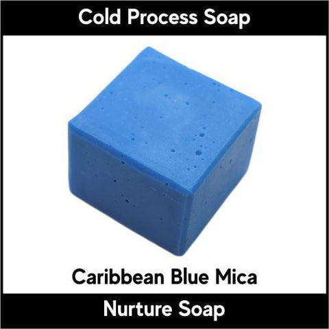 Caribbean Blue Mica Powder - Nurture Soap Inc. - 1
