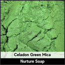 Celadon Green Mica-Nurture Soap Making Supplies