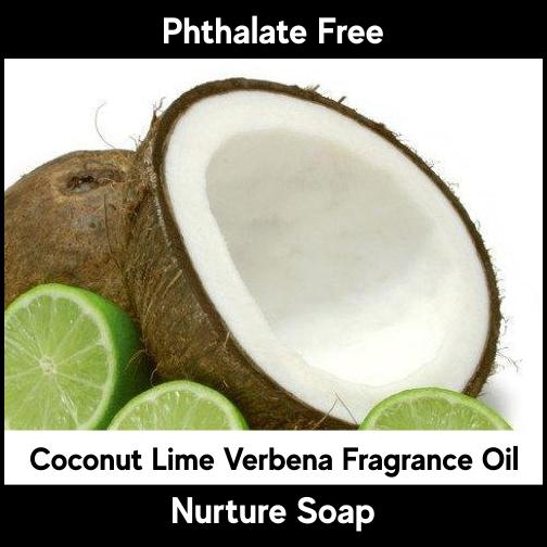 Coconut Lime Verbena-Nurture Soap