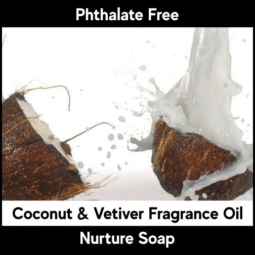 Coconut & Vetiver-Nurture Soap