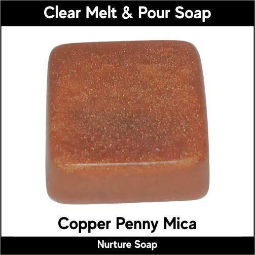 Copper Penny Mica-Nurture Soap Making Supplies