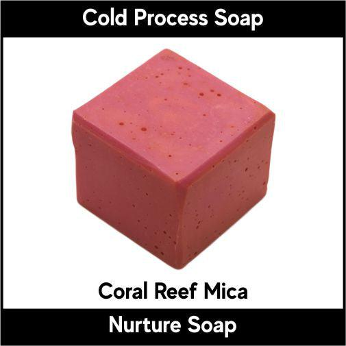 Coral Reef Orange Pink Mica
