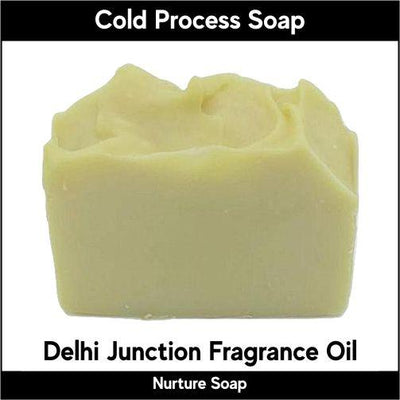 Delhi Junction in cold process-Nurture Soap
