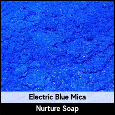 Electric Blue Mica-Nurture Soap Making Supplies