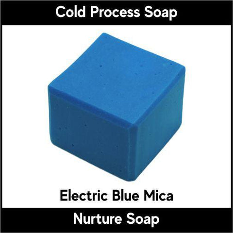 Electric Blue Crystal Mica Powder - Nurture Soap Inc. - 1