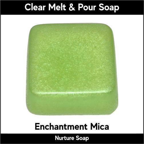 Enchantment Mica in MP Soap