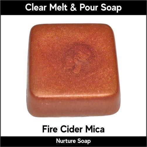 Fire Cider Mica in MP Soap