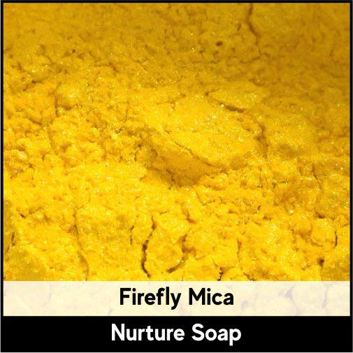 Firefly Yellow Mica-Nurture Soap