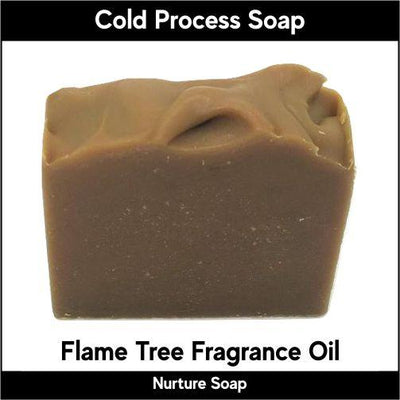 Flame Tree in cold process-Nurture Soap