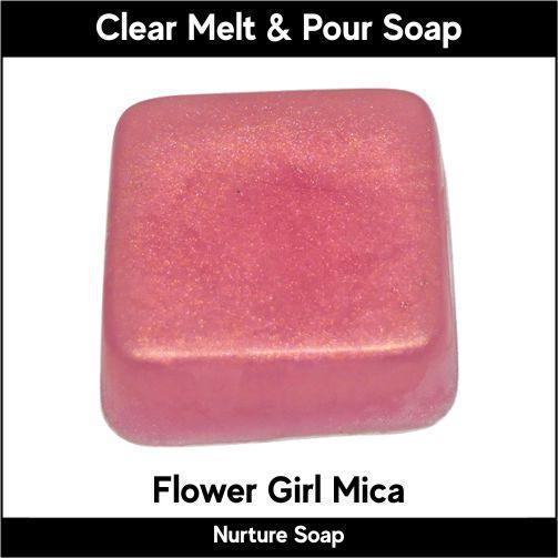 Flower Girl Mica in MP Soap