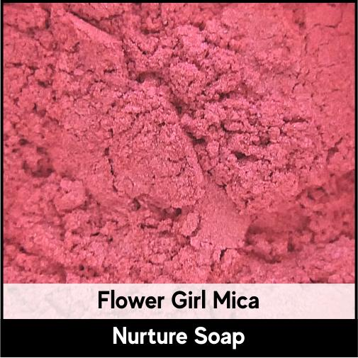 Flower Girl Mica-Nurture Soap Making Supplies