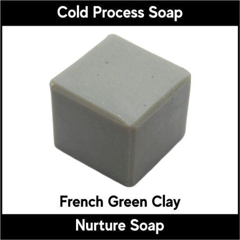 French Green Clay - Nurture Soap Inc. - 1