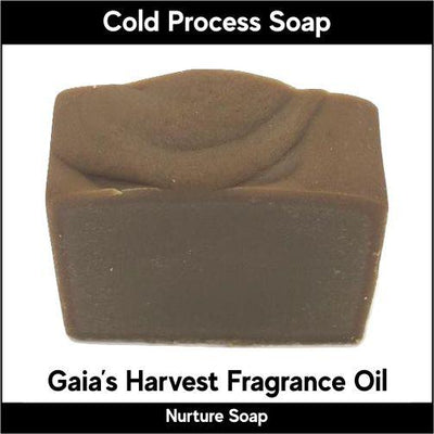 Gaia's Harvest in cold process-Nurture Soap