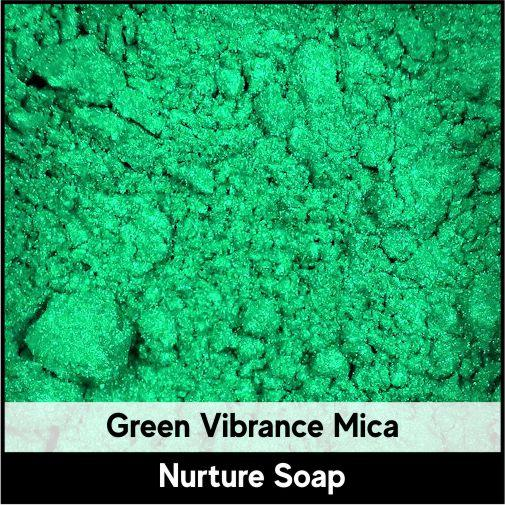 Green Vibrance Mica-Nurture Soap Making Supplies