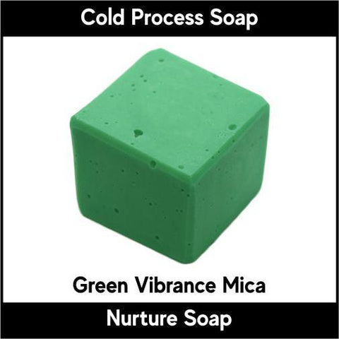 Green Vibrance Mica Powder - Nurture Soap Inc. - 1
