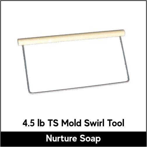 Hanger Swirl Tool for 4.5 lb TS Mold - Nurture Soap