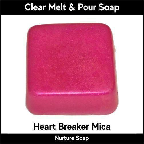 Heart Breaker Mica in MP Soap